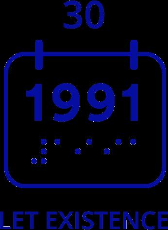Ikona 30 let existence od roku 1991