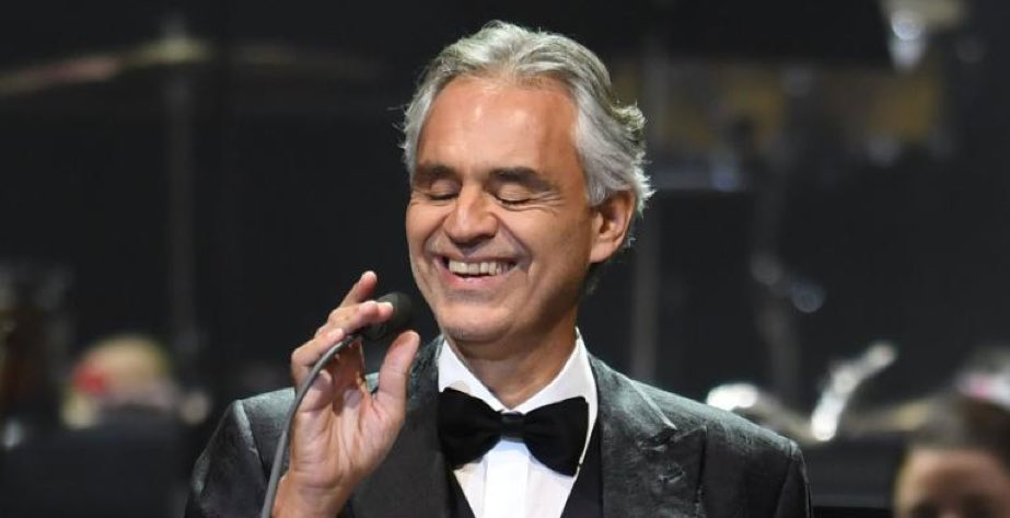 Andrea Bocelli Fotka