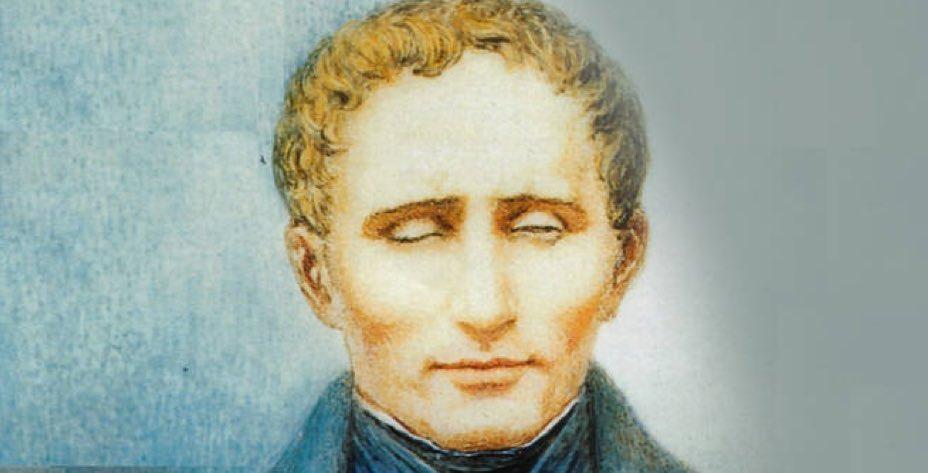 Luis Braille portrét