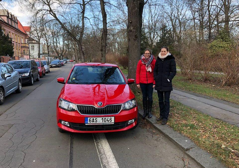 Nove auto v Ostravě