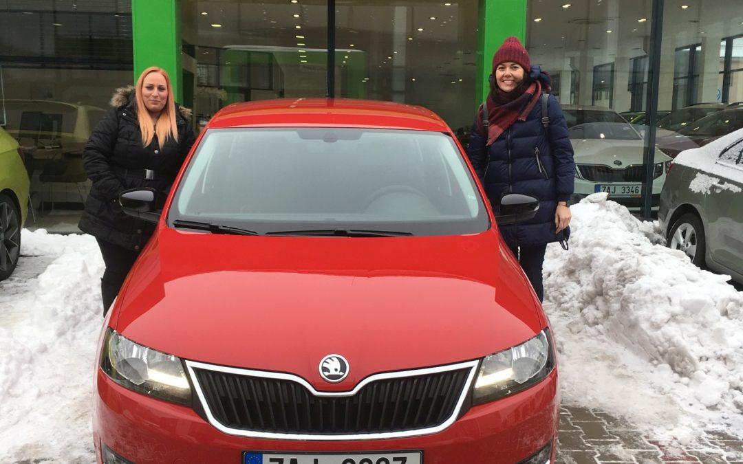Nové auto v Karlových Varech