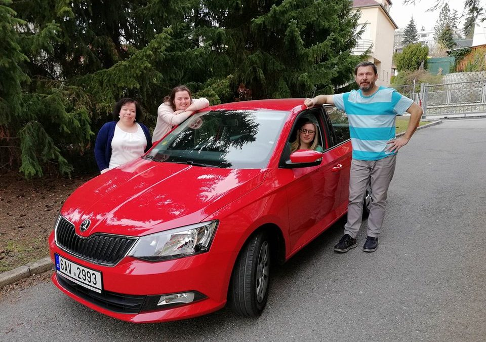 Nové auto v Brně