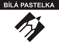 Logo bílá pastelka