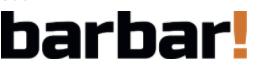 Logo časopisu Barbar