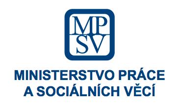 Logo Ministerstva práce a sociálních věcí
