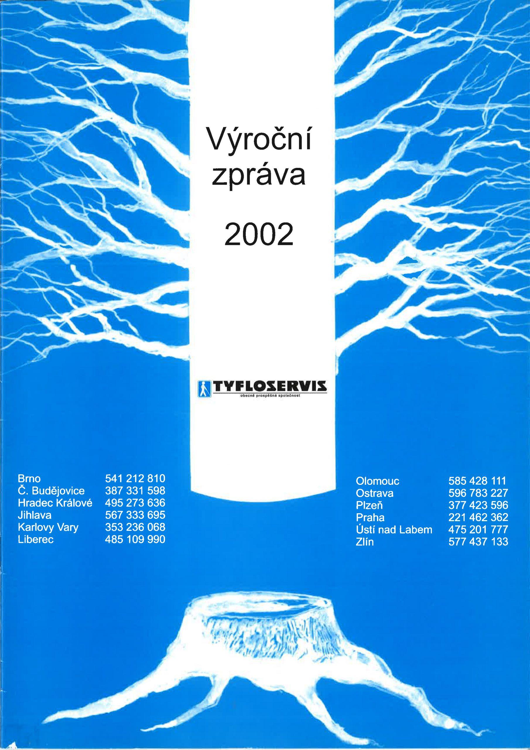 Výroční zpráva 2002