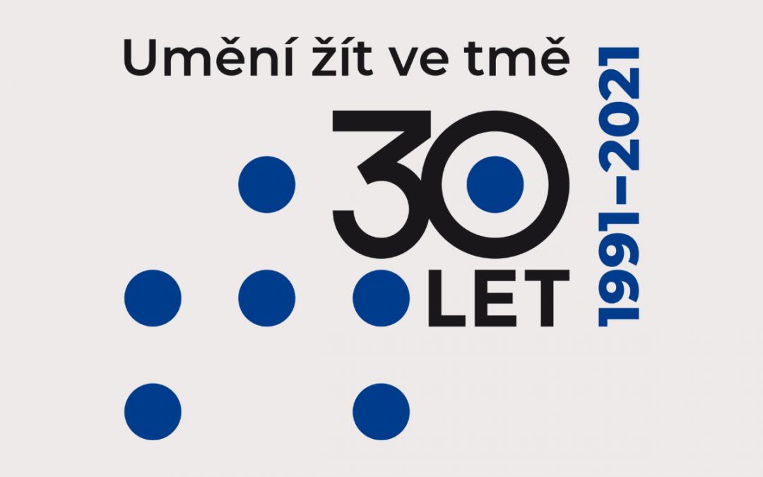 Logo k 30. výročí Tyfloservisu