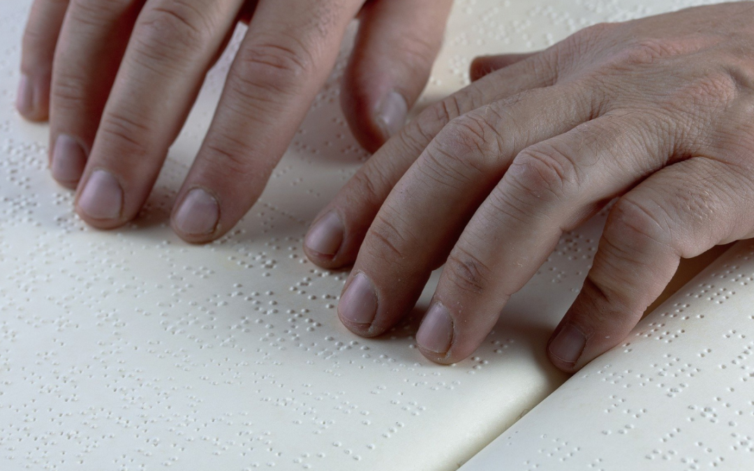 Výuka a potřeba Braillova bodového písma